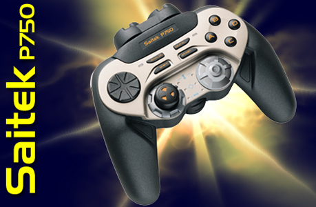 The Saitek P750 joypad